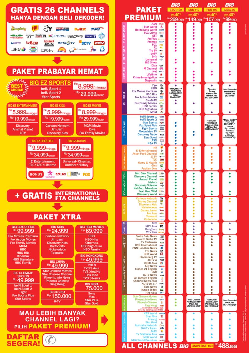 brosur matrix big tv lengkap
