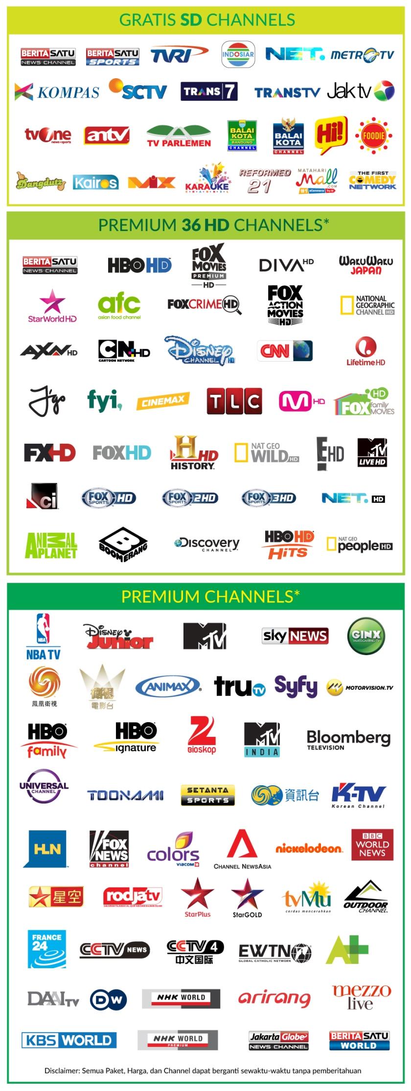 big tv chanel