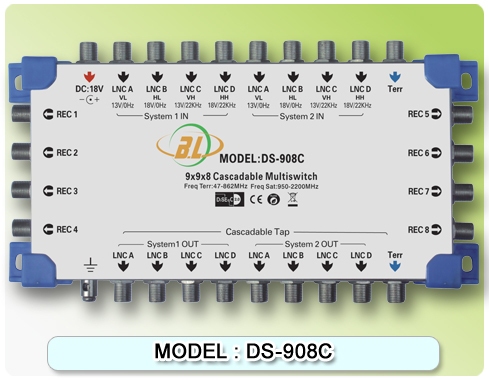-font-b-Satellite-b-font-font-b-multiswitch-b-font-DS-908C-cascadable-Connect-the